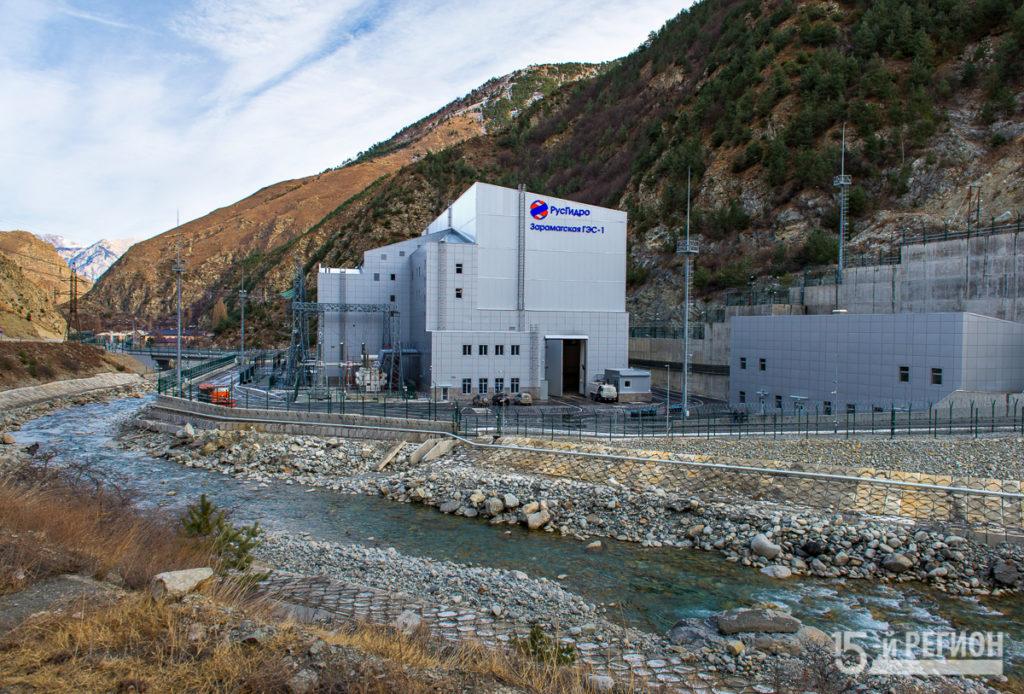В Северной Осетии введена в эксплуатацию Зарамагская ГЭС-1