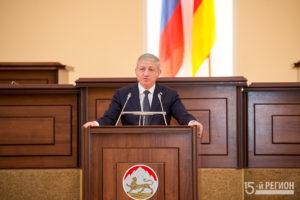 Доклад-послание главы Северной Осетии