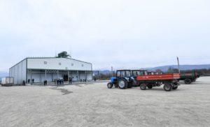 Инновационное фруктохранилище открыли в Северной Осетии