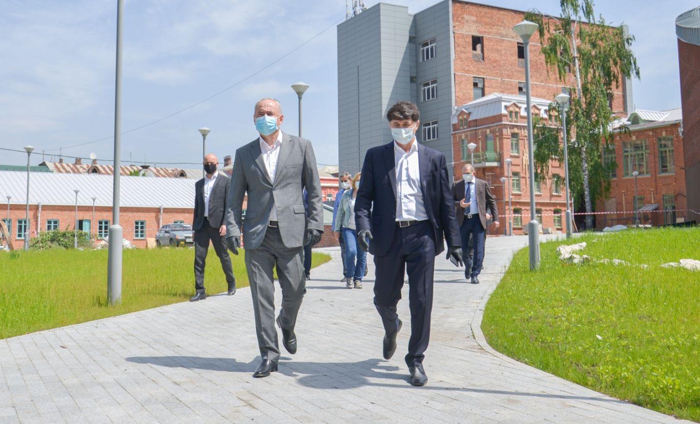 Строительство объектов в Северной Осетии в рамках ФЦП и нацпроектов ведется в прежнем режиме