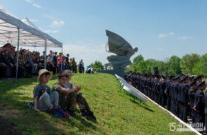На территории мемориального комплекса «Барбашово поле» завершается строительство нового проекта