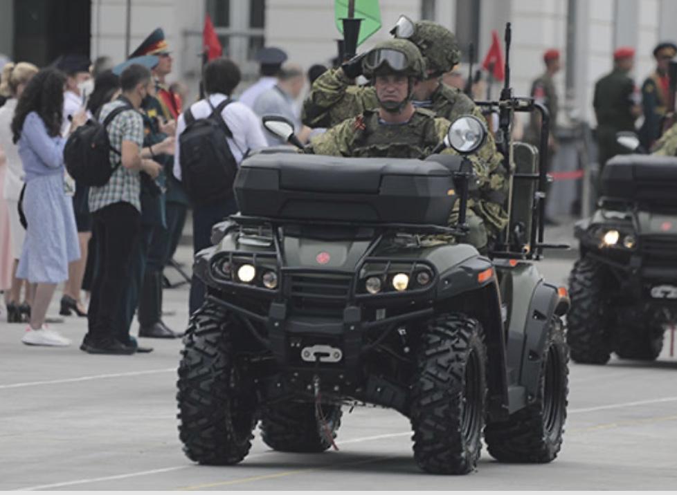 Квадроциклы высокой проходимости поступили на вооружение разведчиков в Северной Осетии