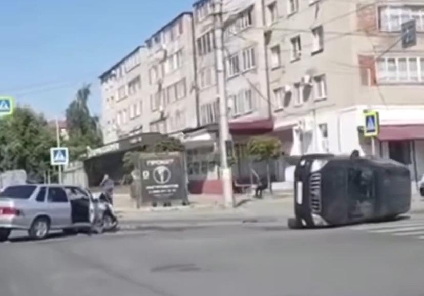 Во Владикавказе произошло серьезное ДТП