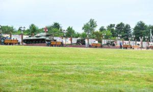 В Северной Осетии открыли обновленный мемориальный комплекс «Барбашово поле». Видеосюжет