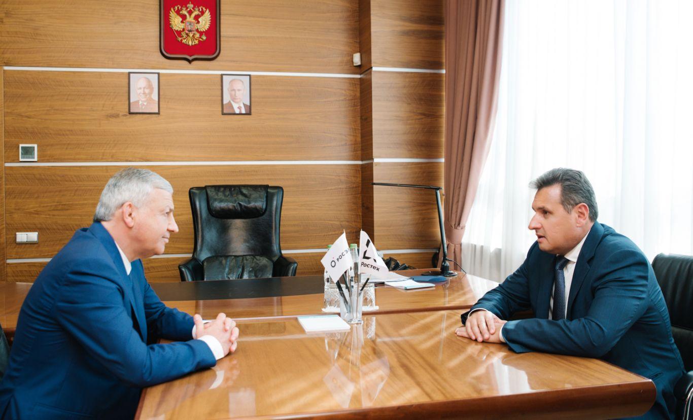 Вячеслав Битаров встретился с Сергеем Сахненко