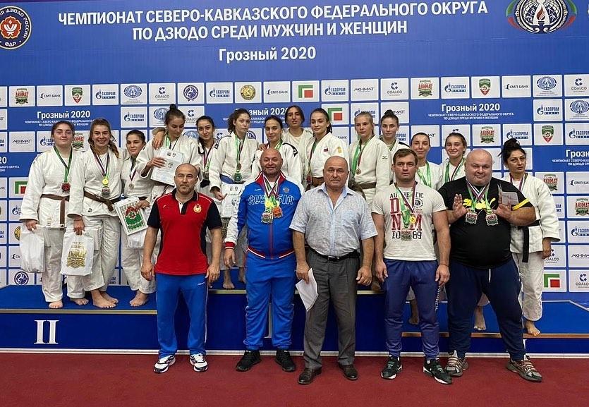 Дзюдоисты из Северной Осетии триумфально выступили на чемпионате СКФО