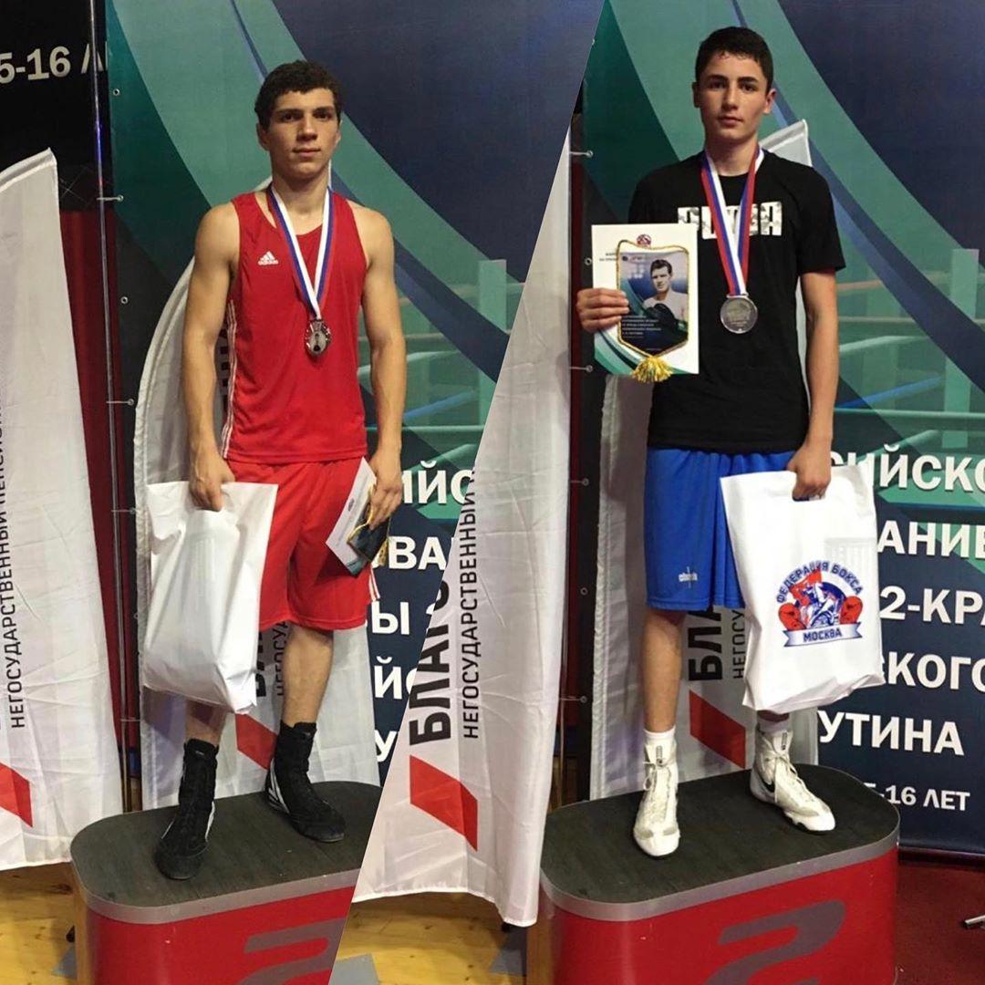 Станислав Золоев и Хетаг Доев стали серебряными призерами Всероссийских соревнований по боксу