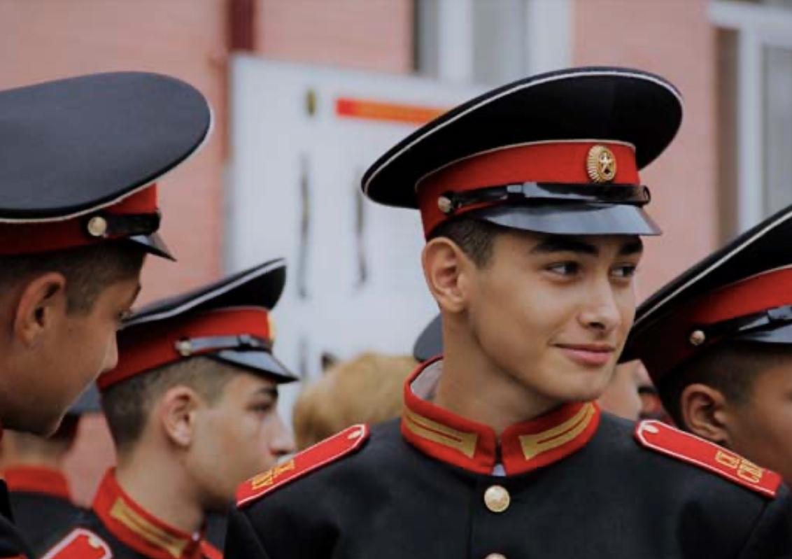Во Владикавказе первокурсников СВУ посвятили в суворовцы