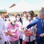 В Михайловском торжественно открыли амбулаторию на 100 посещений