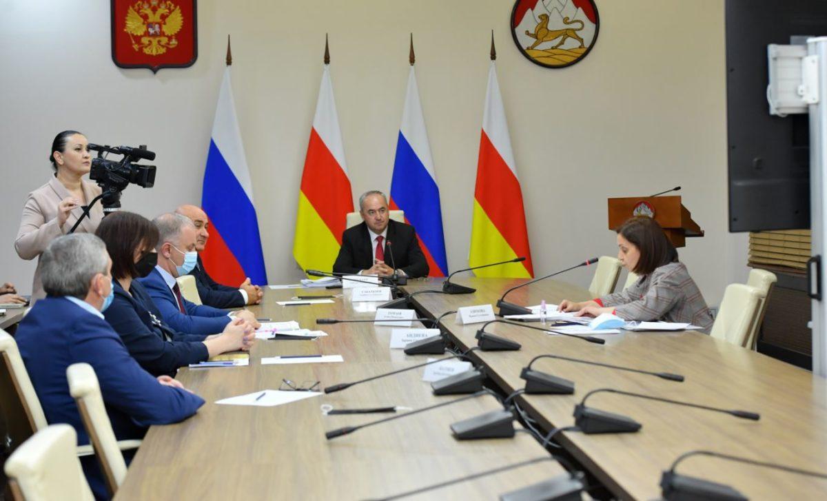 В правительстве обсудили ход реализации нацпроектов, госпрограмм и генплана развития Беслана