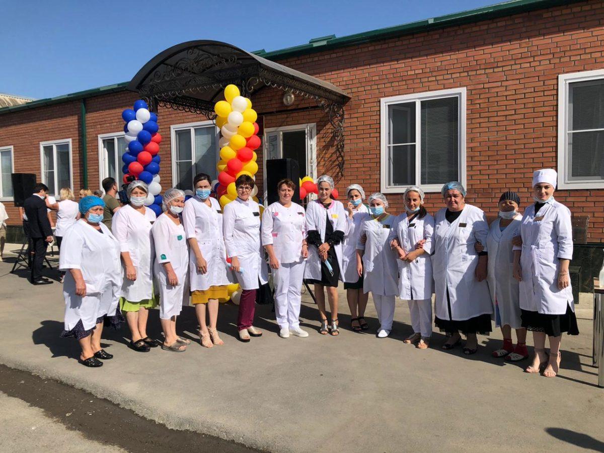 В Кизляре открылась новая амбулатория на 100 посещений в смену