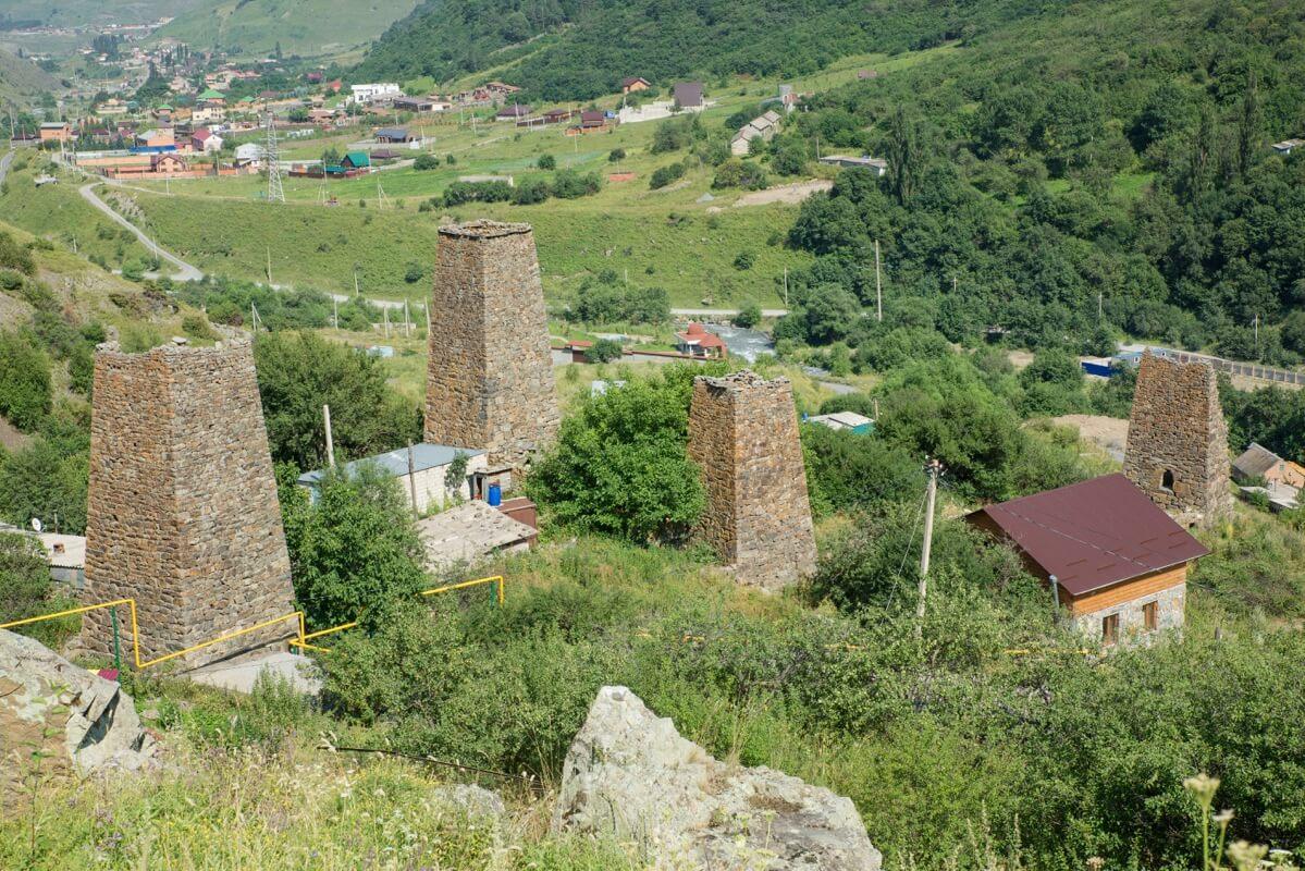 Фамильные объединения Северной Осетии смогут реставрировать родовые башни