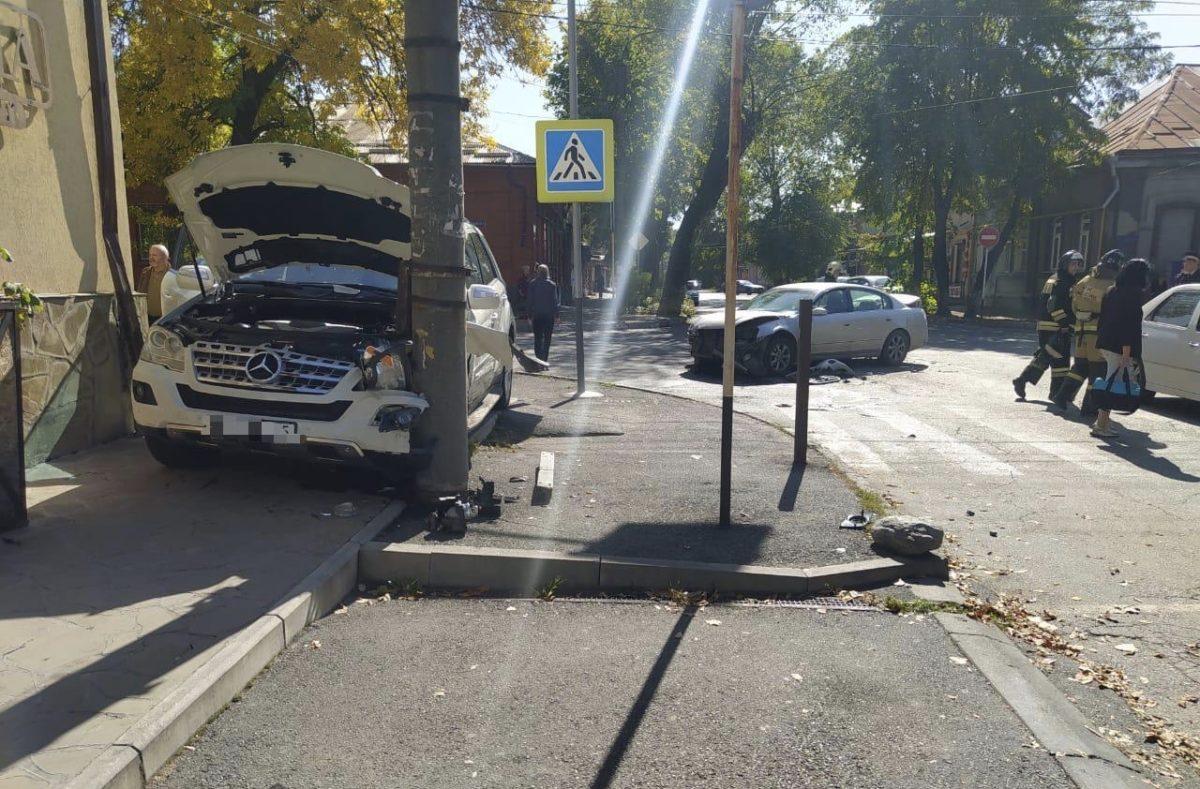 В ДТП в Северной Осетии пострадали два человека