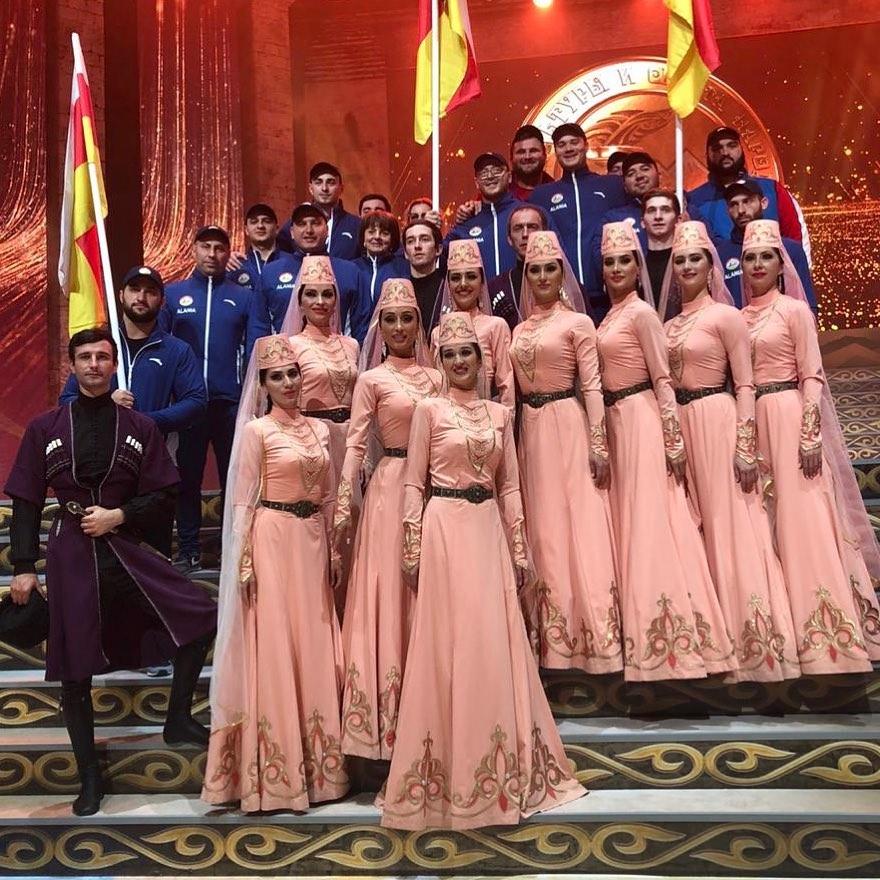 Делегация из Северной Осетии принимает участие в Фестивале культуры и спорта народов Кавказа