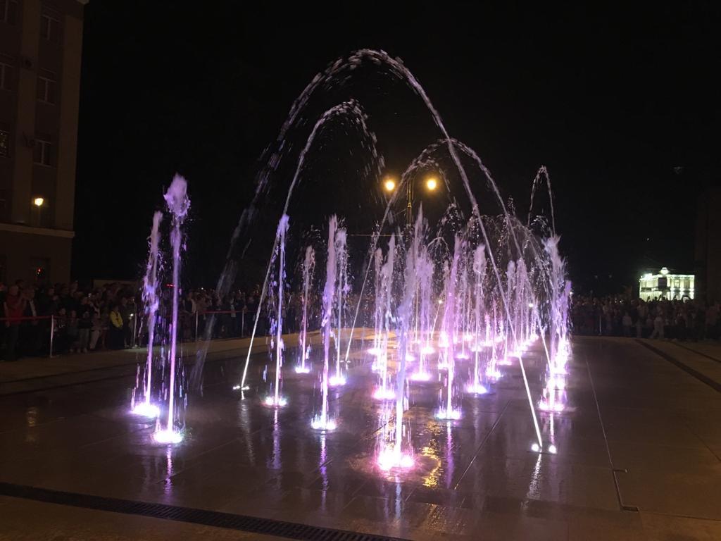 Сезон фонтанов во Владикавказе закроют 1 ноября