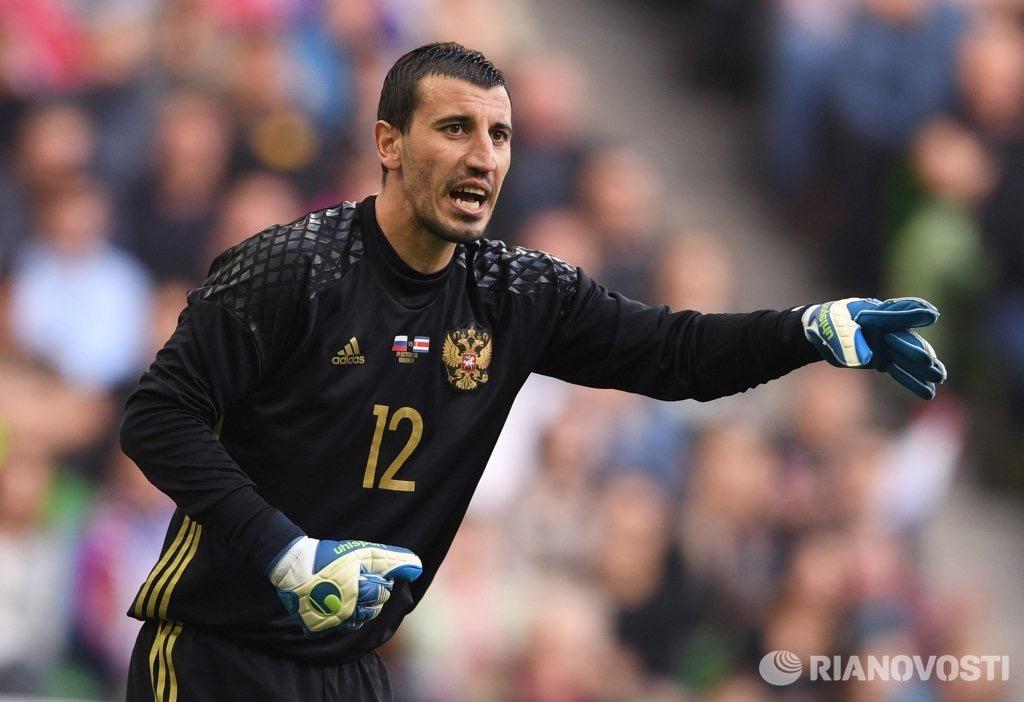 Сослан Джанаев  спустя четыре года сыграл за сборную России