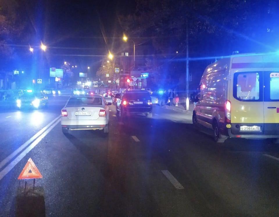 Во Владикавказе автомобиль совершил наезд на пешехода