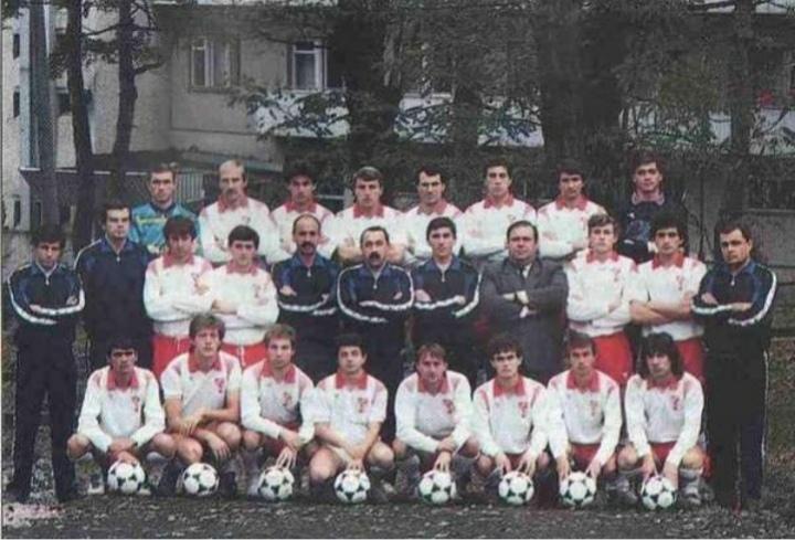 30 лет победе «Спартака» в первой лиге чемпионата СССР