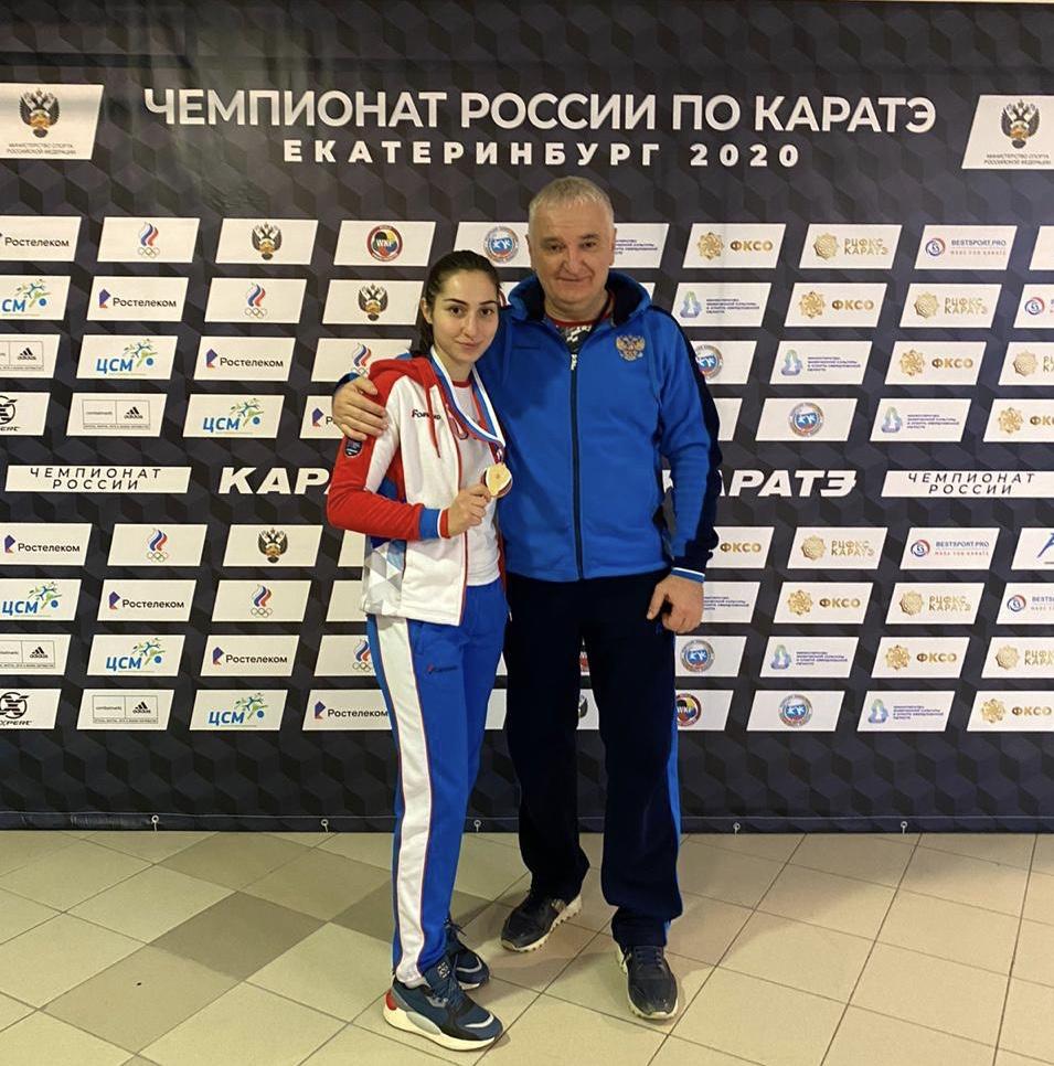Алана Кочиева стала чемпионкой России по каратэ
