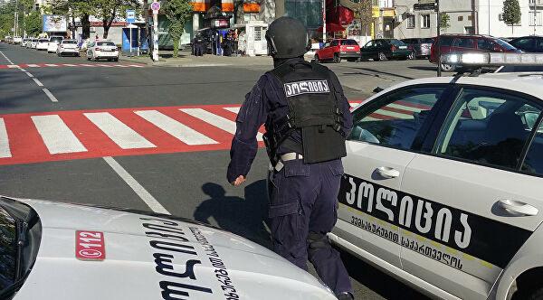 В Грузии задержан мужчина, захвативший заложников в банке