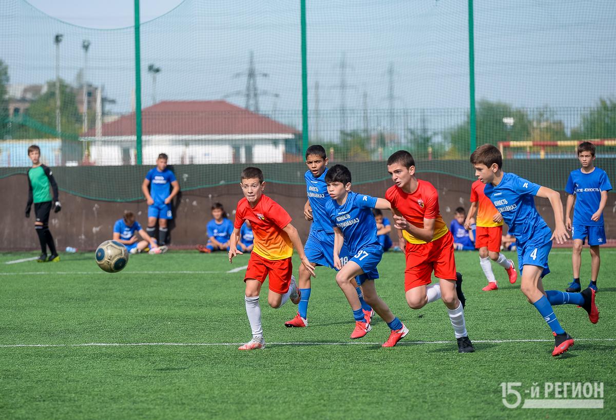 Во Владикавказе проходит футбольный турнир на призы «Алании»