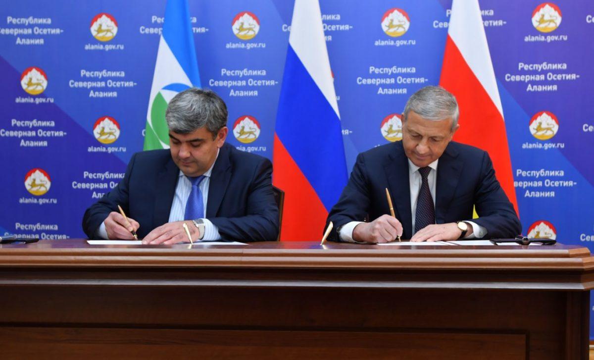 Северная Осетия и Кабардино-Балкария подписали соглашение о сотрудничестве