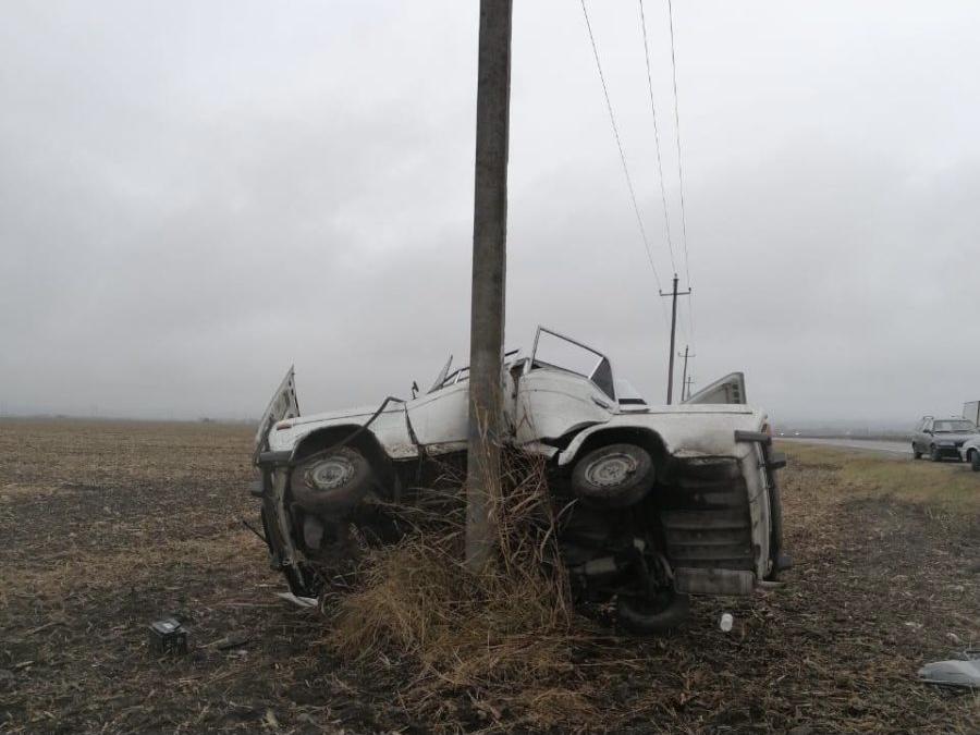 В Северной Осетии в ДТП пострадали два человека