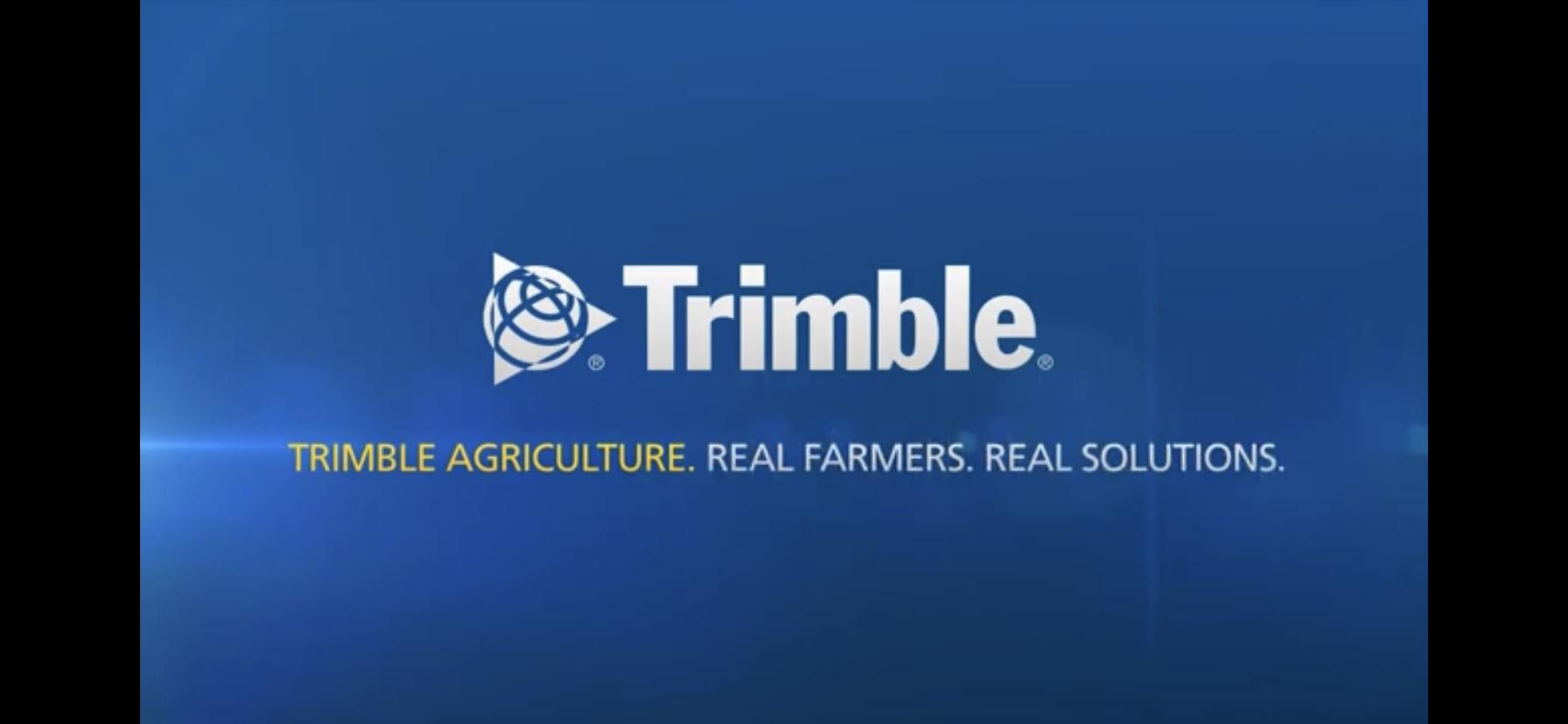 Технологии точного земледелия Trimble