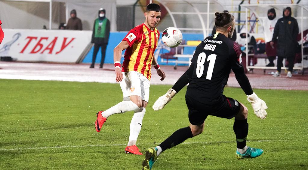В последнем матче года «Алания» победила «Чертаново»