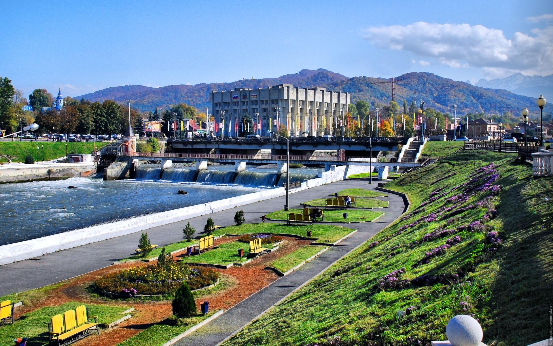 Во Владикавказе планируется благоустройство части набережной