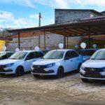 В Северной Осетии медицинским учреждениям вручили 13 санитарных автомобилей