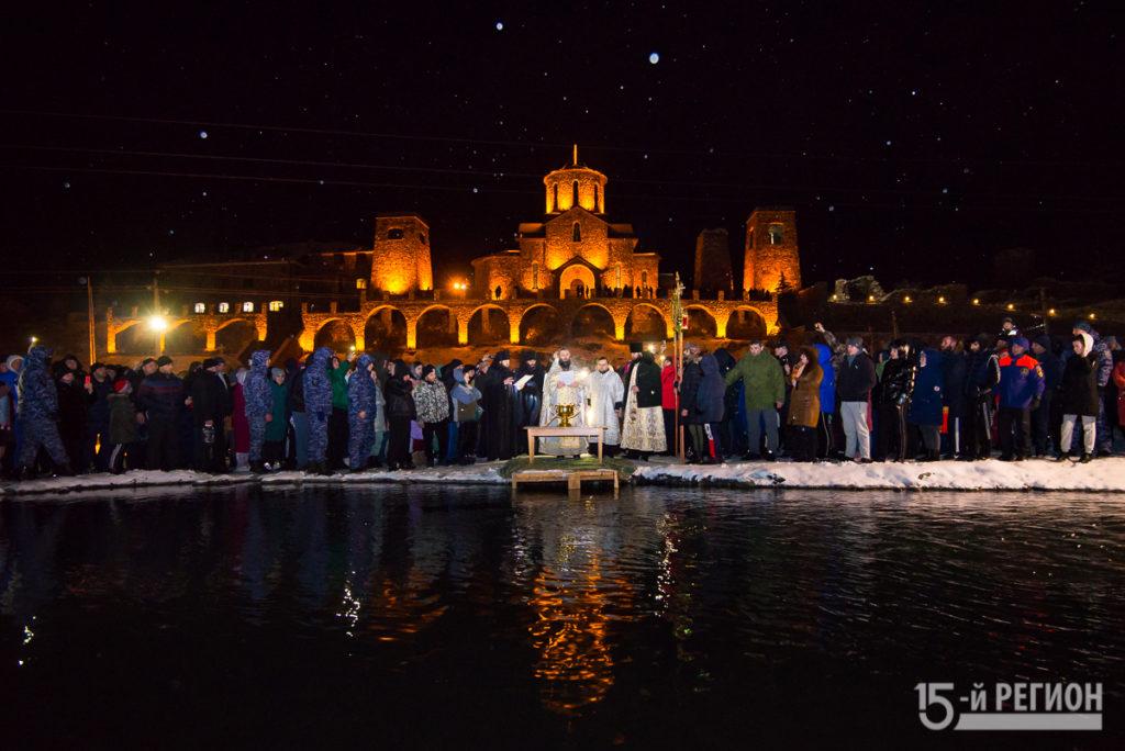 Крещение Господне в Фиагдоне