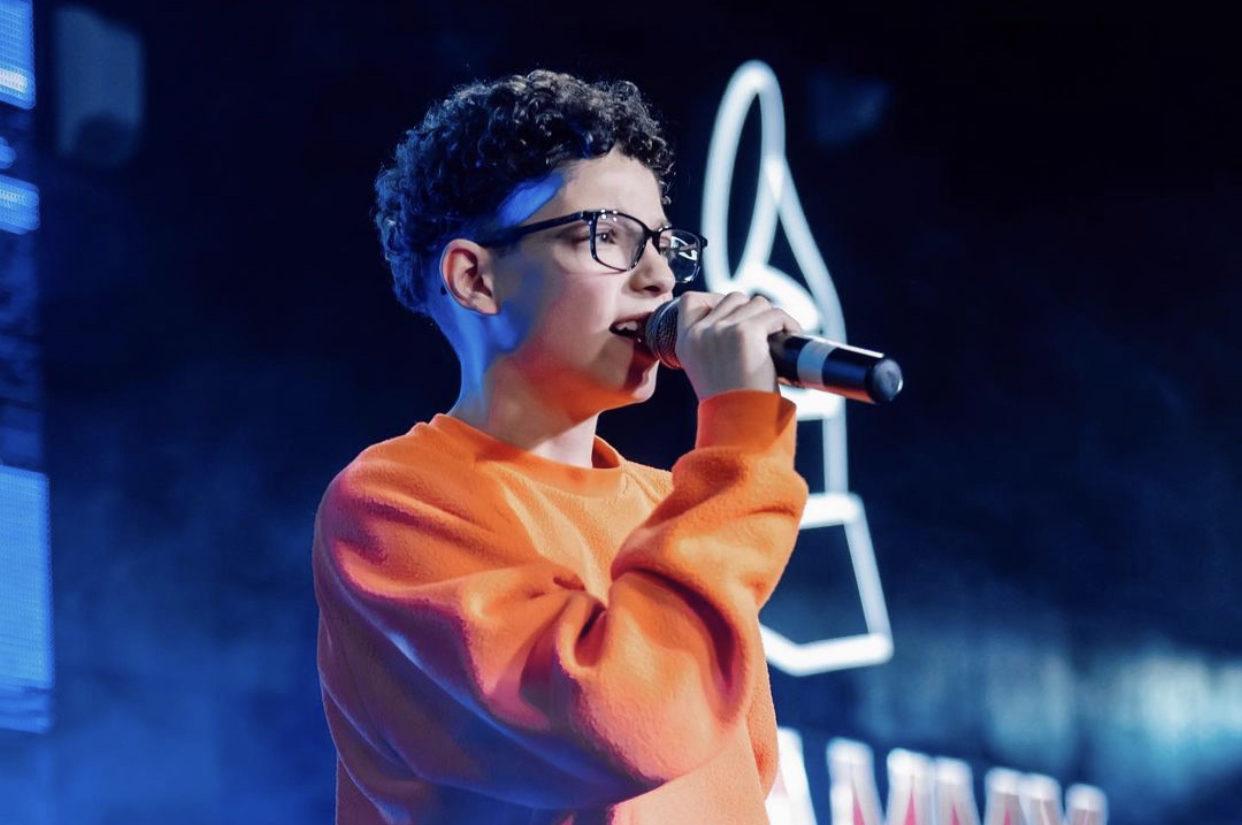 Георгий Дзебоев прошел этап «слепых» прослушиваний на шоу «Голос. Дети 8»