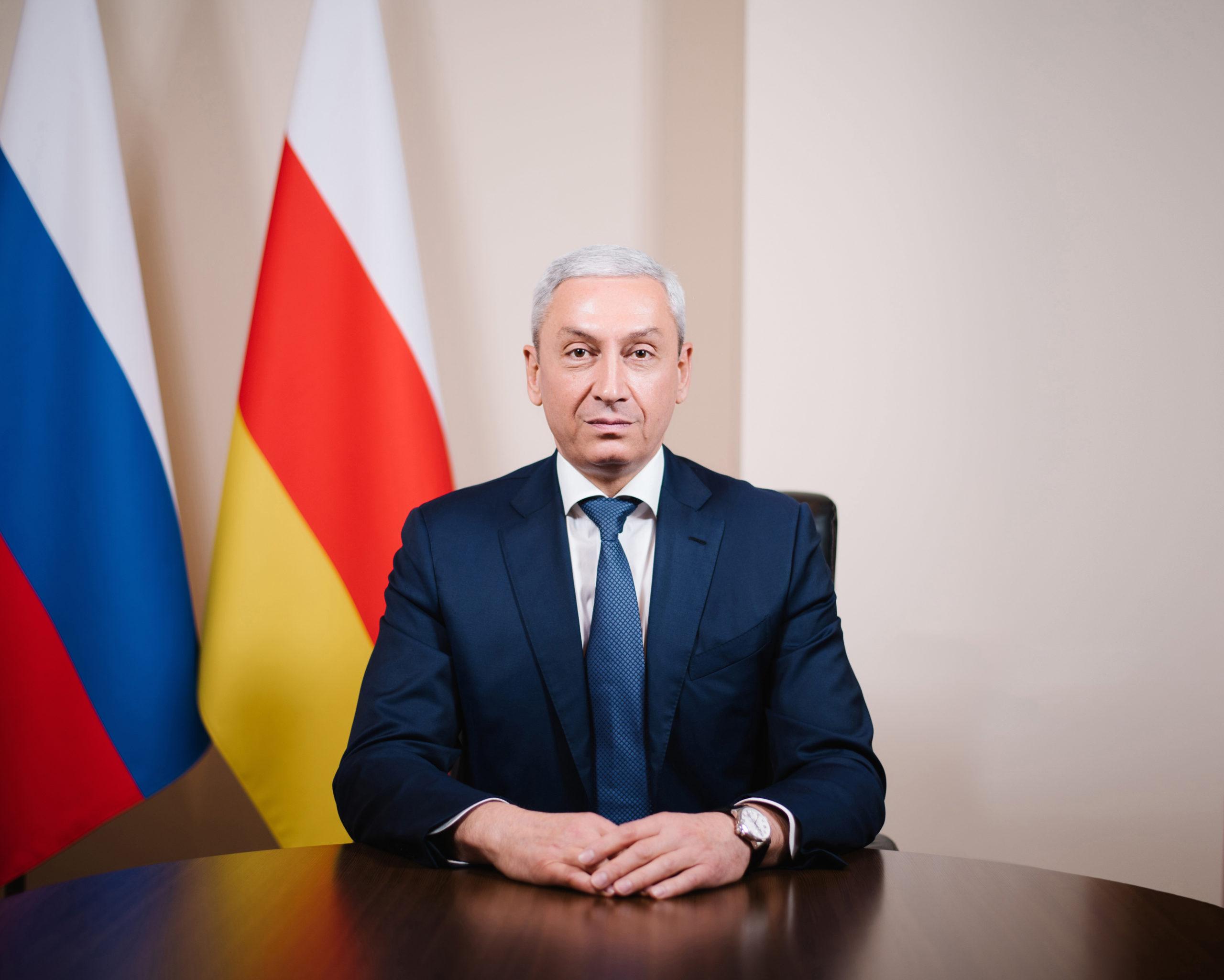Поздравление полпреда Бориса Джанаева с Днем защитника Отечества