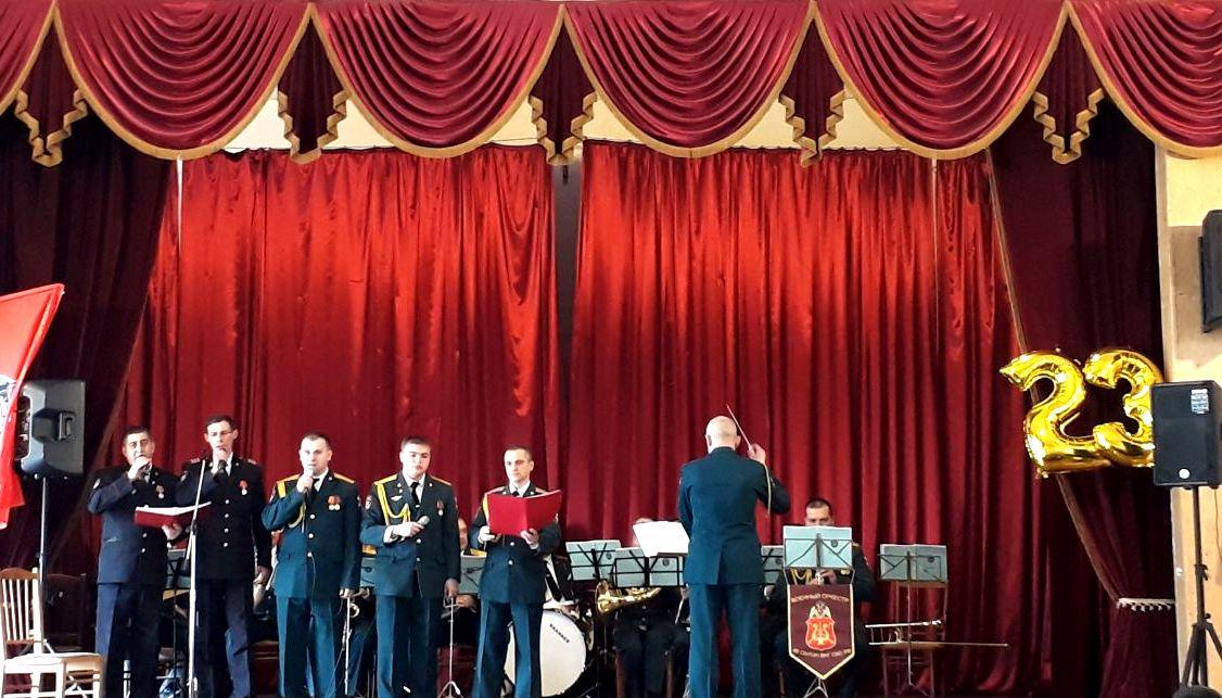 В ГМТ состоялся праздничный концерт ко Дню защитника Отечества