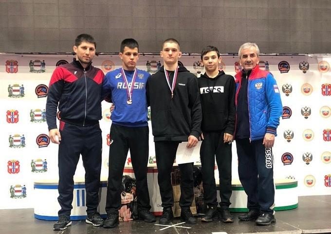 Давид Теблоев стал победителем первенства России по греко-римской борьбе