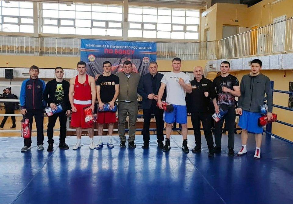 В Беслане определились победители чемпионата и первенства республики по боксу