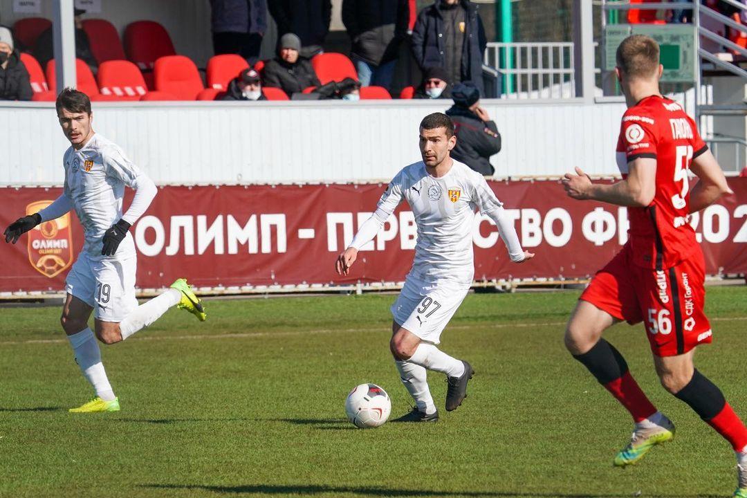 «Алания» сыграла вничью с московским «Спартаком-2»