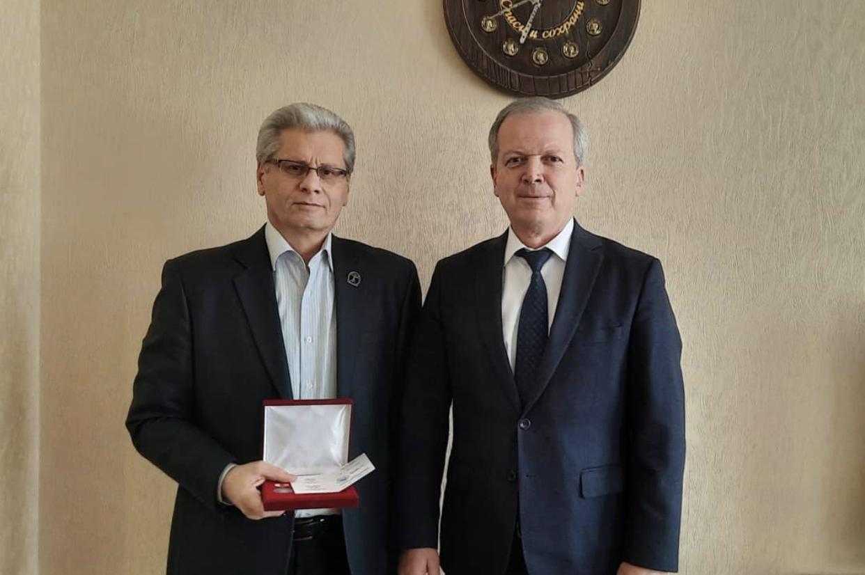 Таймураз Маргиев удостоен медали «Во Славу Осетии»