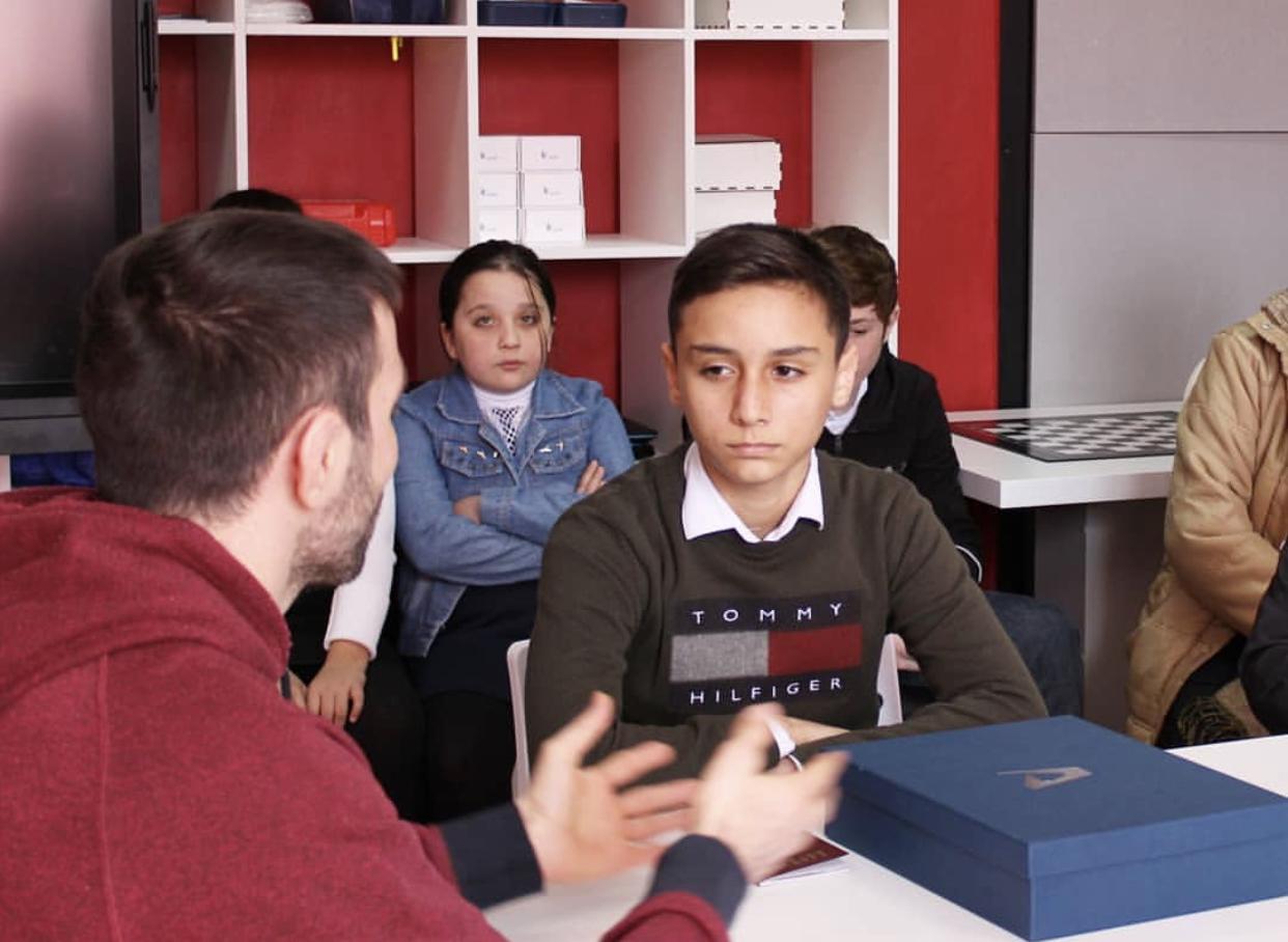Сослан Рамонов исполнил мечту воспитанника алагирской школы-интерната