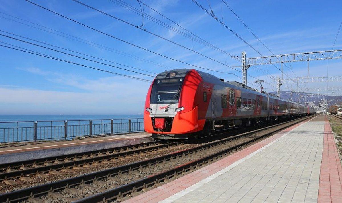 Жители Северной Осетии смогут доехать на поезде из Владикавказа до Туапсе за 10 часов
