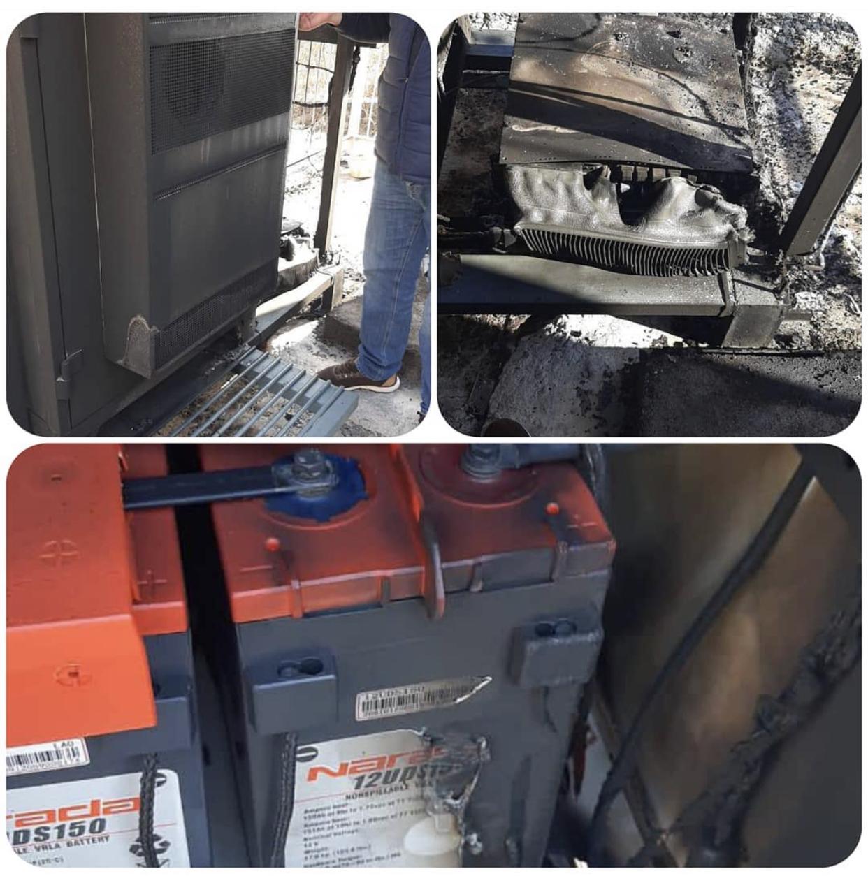Полиция проводит проверку по факту возгорания ретранслятора сотового оператора в Мизуре