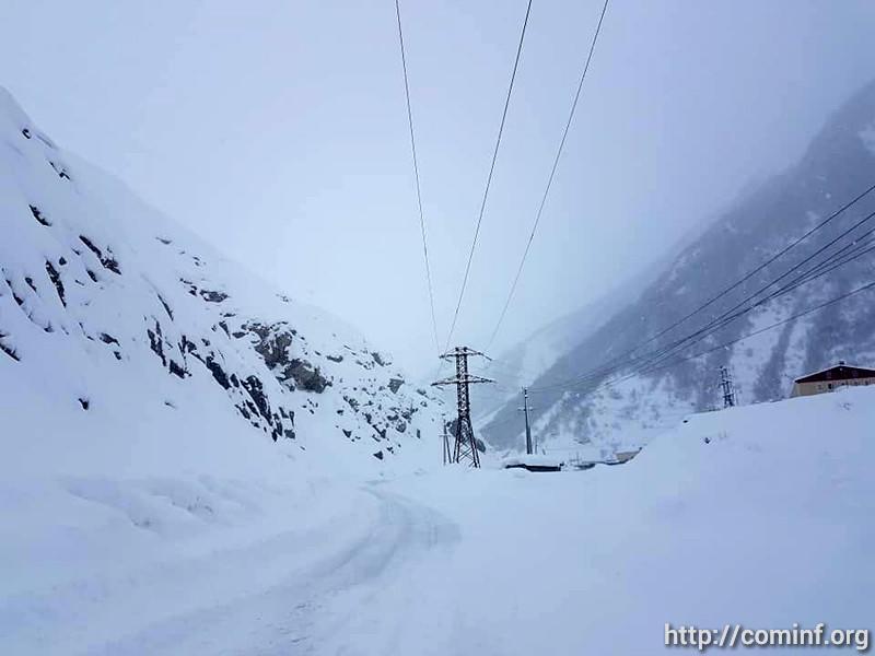 Южная Осетия осталась без света