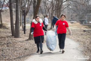 Экологическая акция «Берег добрых дел» во Владикавказе