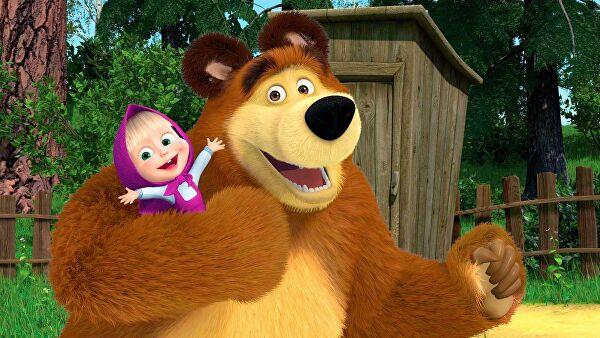 Второй сезон мультсериала «Маша и Медведь» переведен на осетинский язык