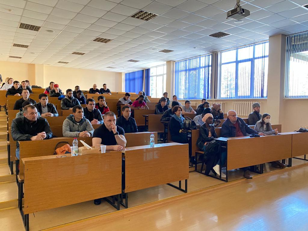 В СКГМИ прошла встреча с иностранными студентами