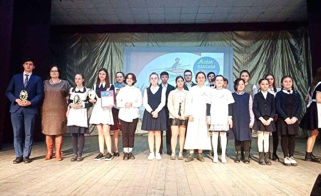 Ученица РФМЛИ Елизавета Хабиева выиграла региональный этап Международного конкурса «Живая классика»