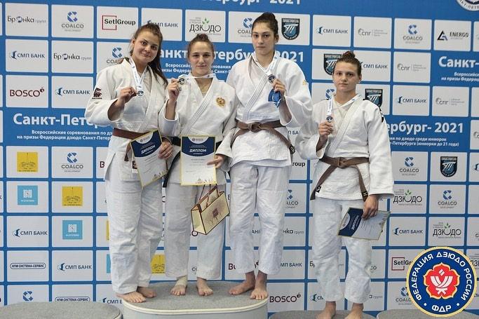 Залина Зураева выиграла всероссийские соревнования по дзюдо в Санкт-Петербурге