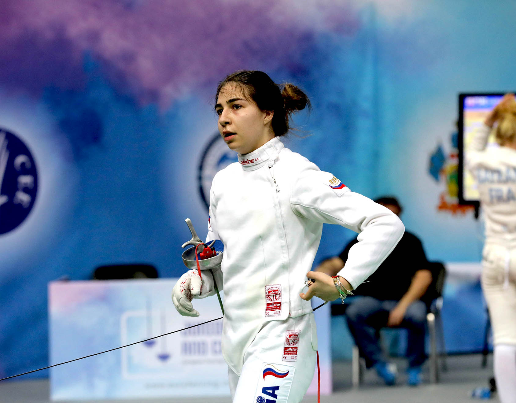 Шпажистка Марина Кесаева стала чемпионкой России в составе команды Московской области