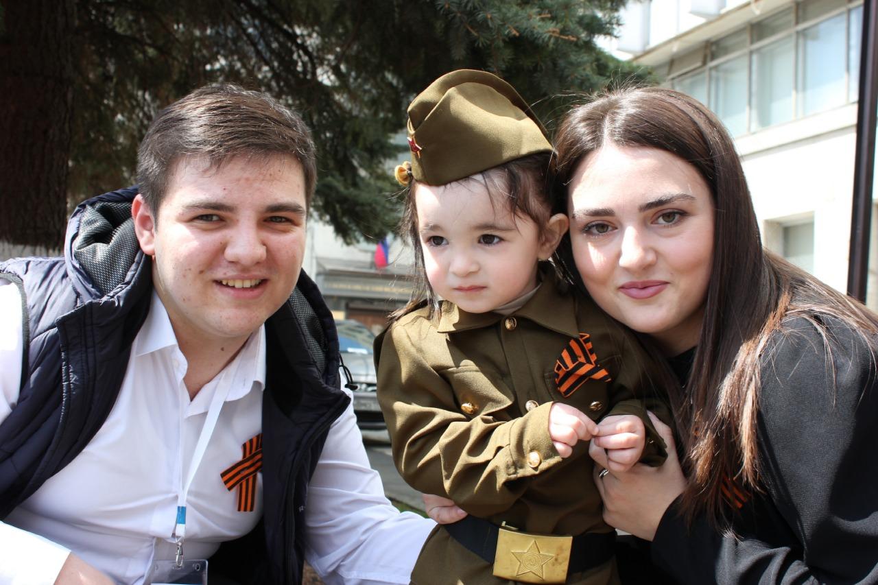 В Северной Осетии стартовала акция «Георгиевская ленточка»
